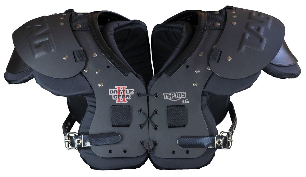 TAG Battle Gear II Intermediate Football Shoulder Pad TSP105 (Buckle Side Strap) Small by TAG (Image #1)