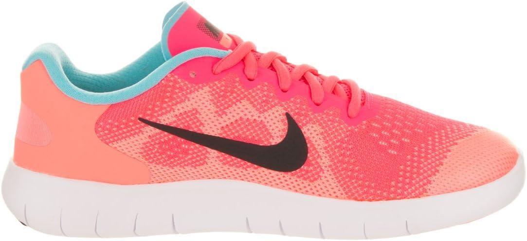 NIKE Nike Free Run 2 Mädchen Laufschuh rosaweiß | 3,5Y