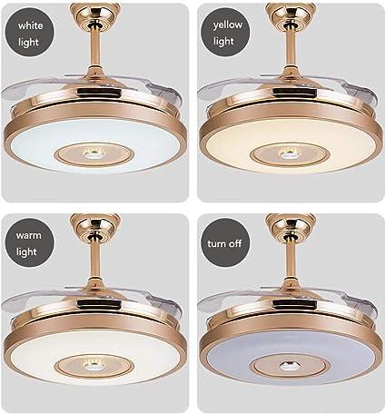JUAN Hermosas lámparas LED ventiladores de techo