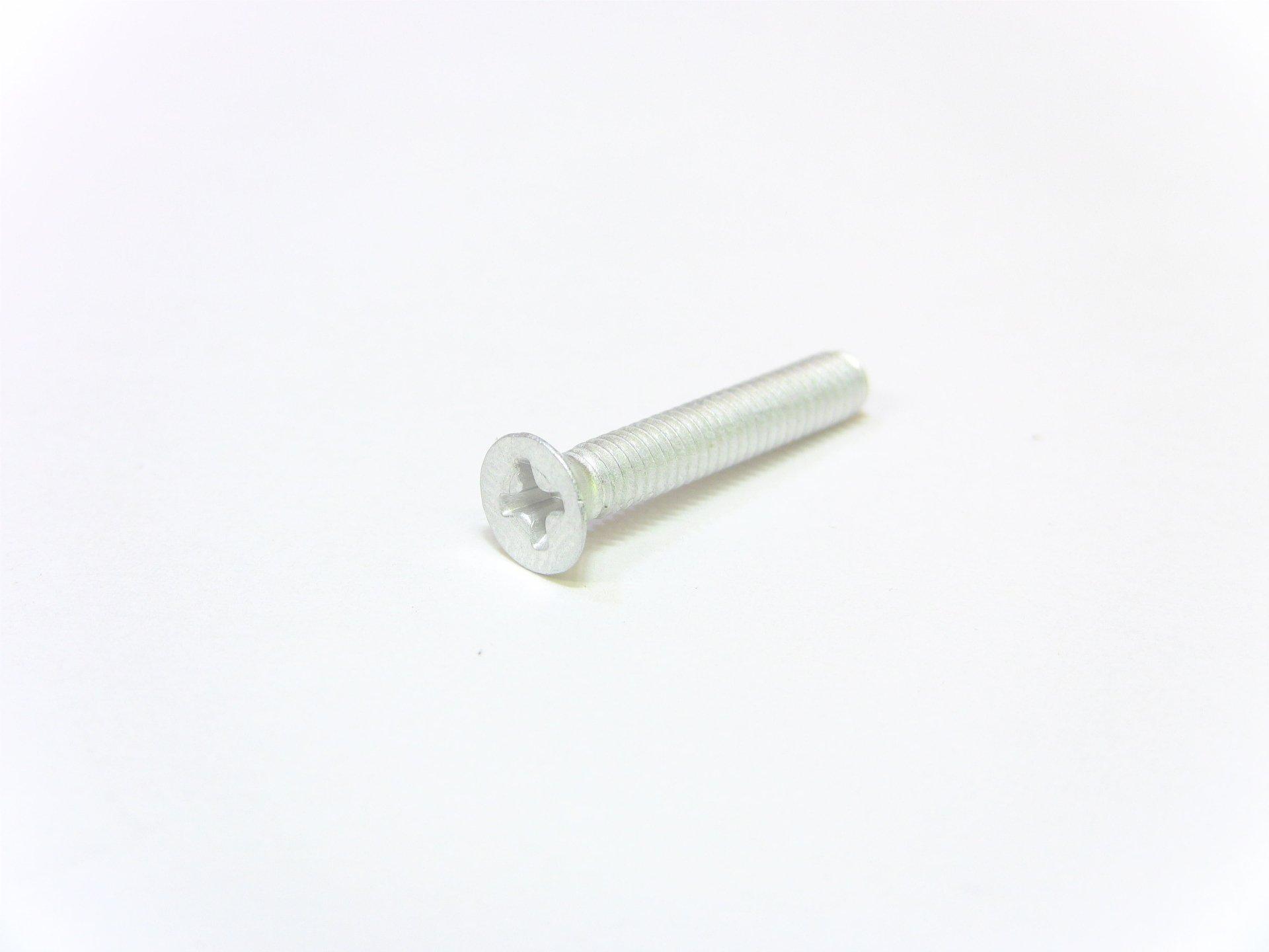 Aluminum Fastener Machine Screw Phillips Flat Head 8 x 32 x 1 in.   UAAC (50pcs)