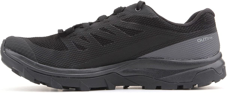 salomon outline low gtx hiking shoes - men's new