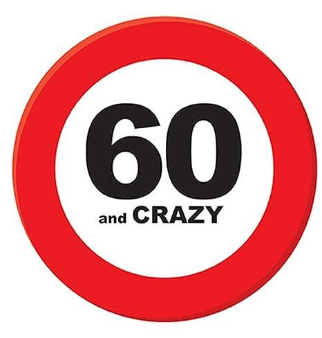 Fancy Ole - Chapa de Pin Crazy, regalo de cumpleaños 60 años ...