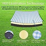 HulaFish Large 79''x79'' Waterproof Picnic Blanket