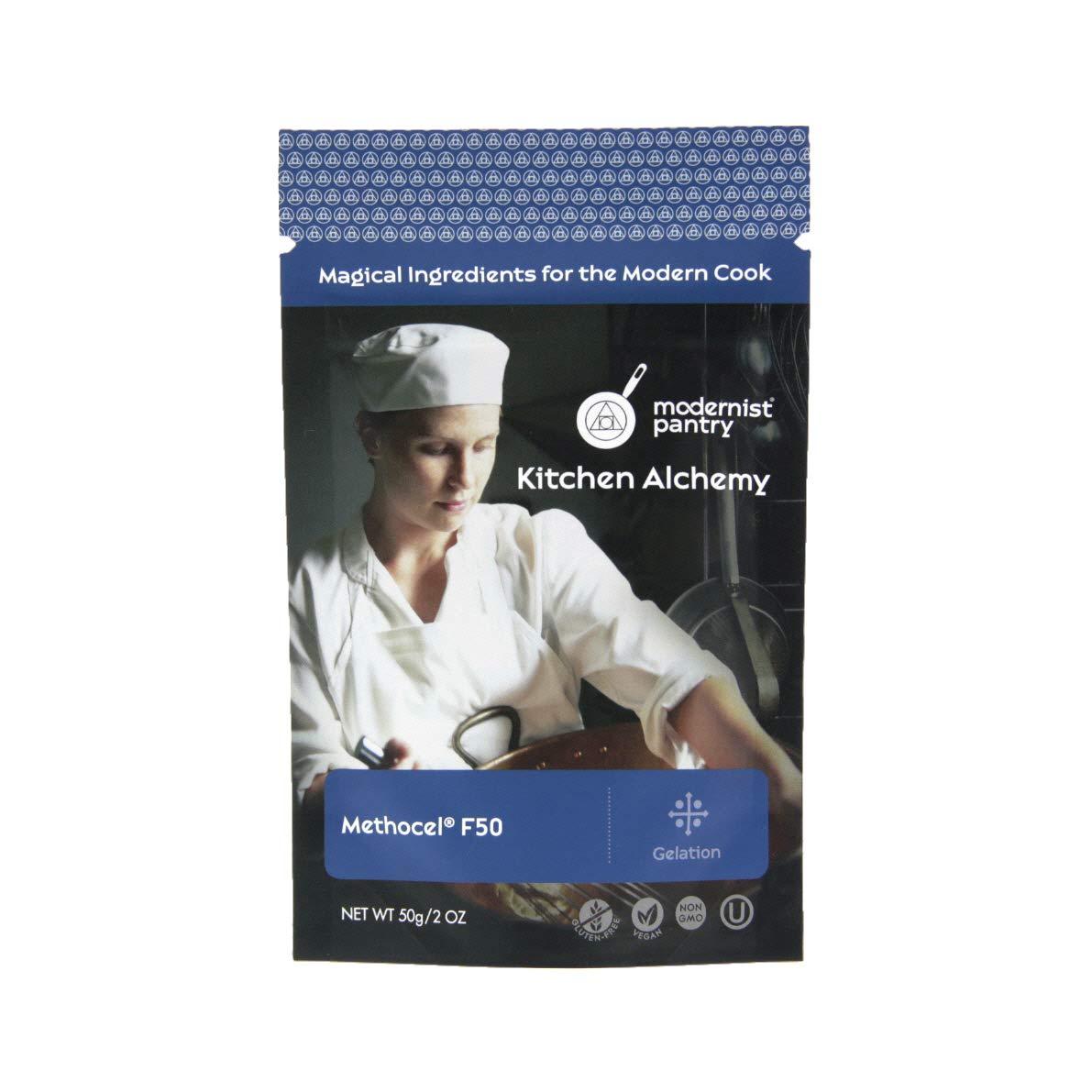 Hydroxypropyl Methylcellulose - Methocel F50 ⊘ Non-GMO ☮ Vegan ✡ OU Kosher Certified - 50g/2oz