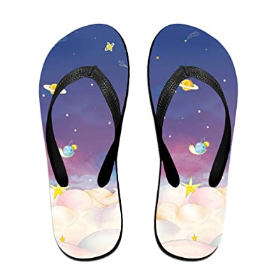 Colorful Cartoon Unisex Classical Comfortable Flip-Flop Beach Slippers