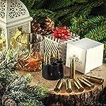 XL Or Ensemble de Cadeaux Pierre a Whisky Exclusives en Acier Inoxydable - Haute Technologie de Refroidissement – Cadeau… 14