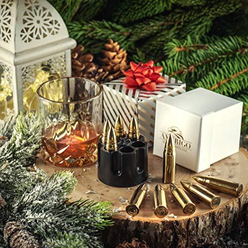 XL Or Ensemble de Cadeaux Pierre a Whisky Exclusives en Acier Inoxydable - Haute Technologie de Refroidissement – Cadeau… 7