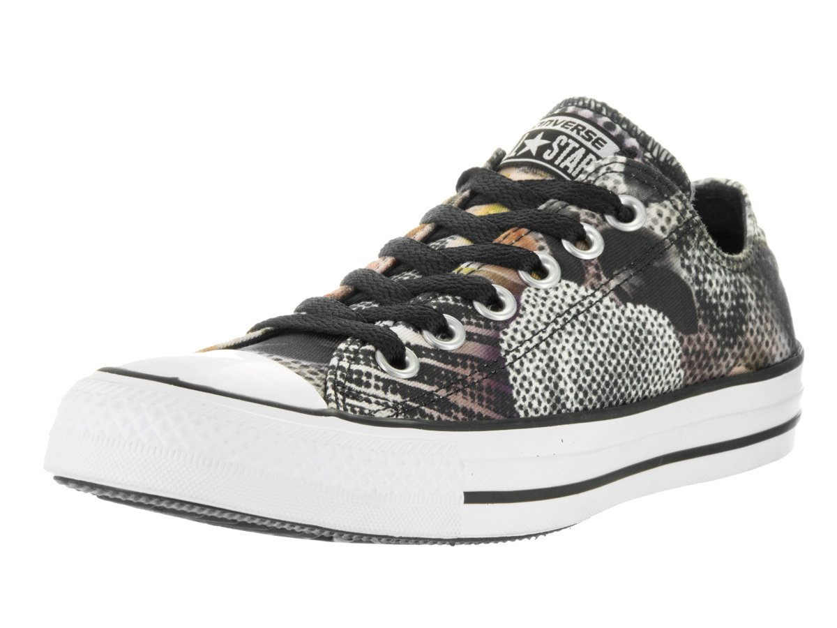 Converse Women's Chuck Taylor All Star Digital Floral Ox Basketball Shoe B0192LL5E2 9.5 B(M) US|Black/White/Pink