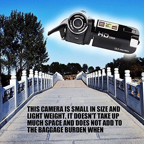 Docooler Digital Camera for Home Use Travel DV Cam 1080P Videocam Camcorder Videocamcoder