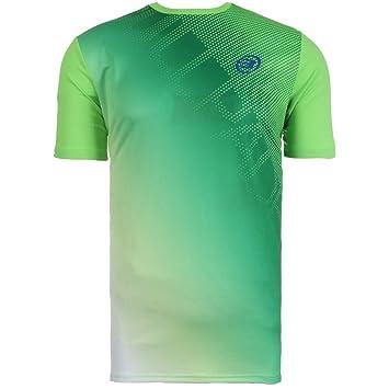 Bullpadel Camiseta COLEPE Verde Fluor Junior: Amazon.es ...
