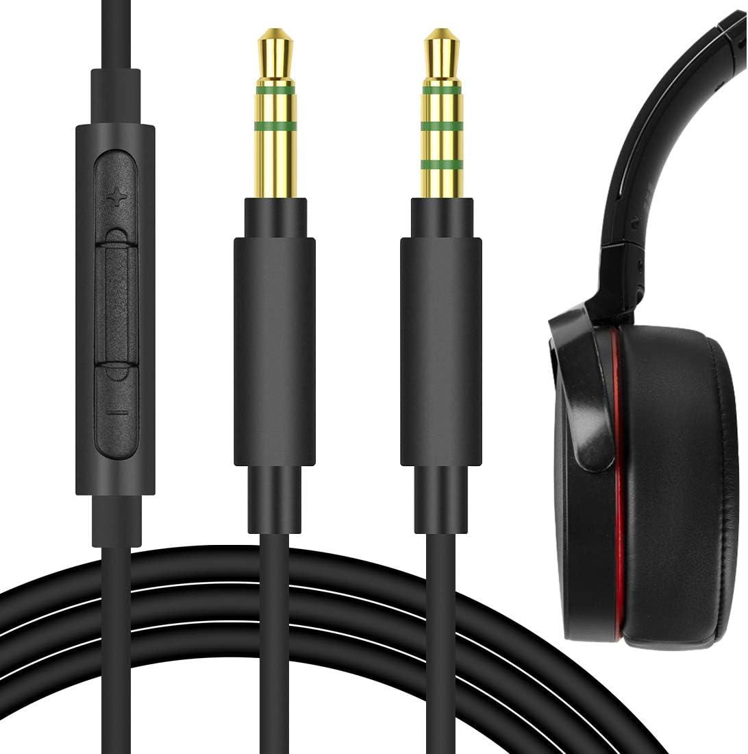Geekria Quickfit Audiokabel Mit Mikrofon Kompatibel Mit Elektronik