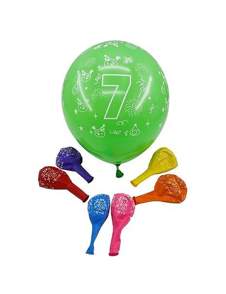 GYFC 4 Piezas 12 Pulgadas Número 0 1 2 3 4 5 6 7 8 9 Mezclar ...
