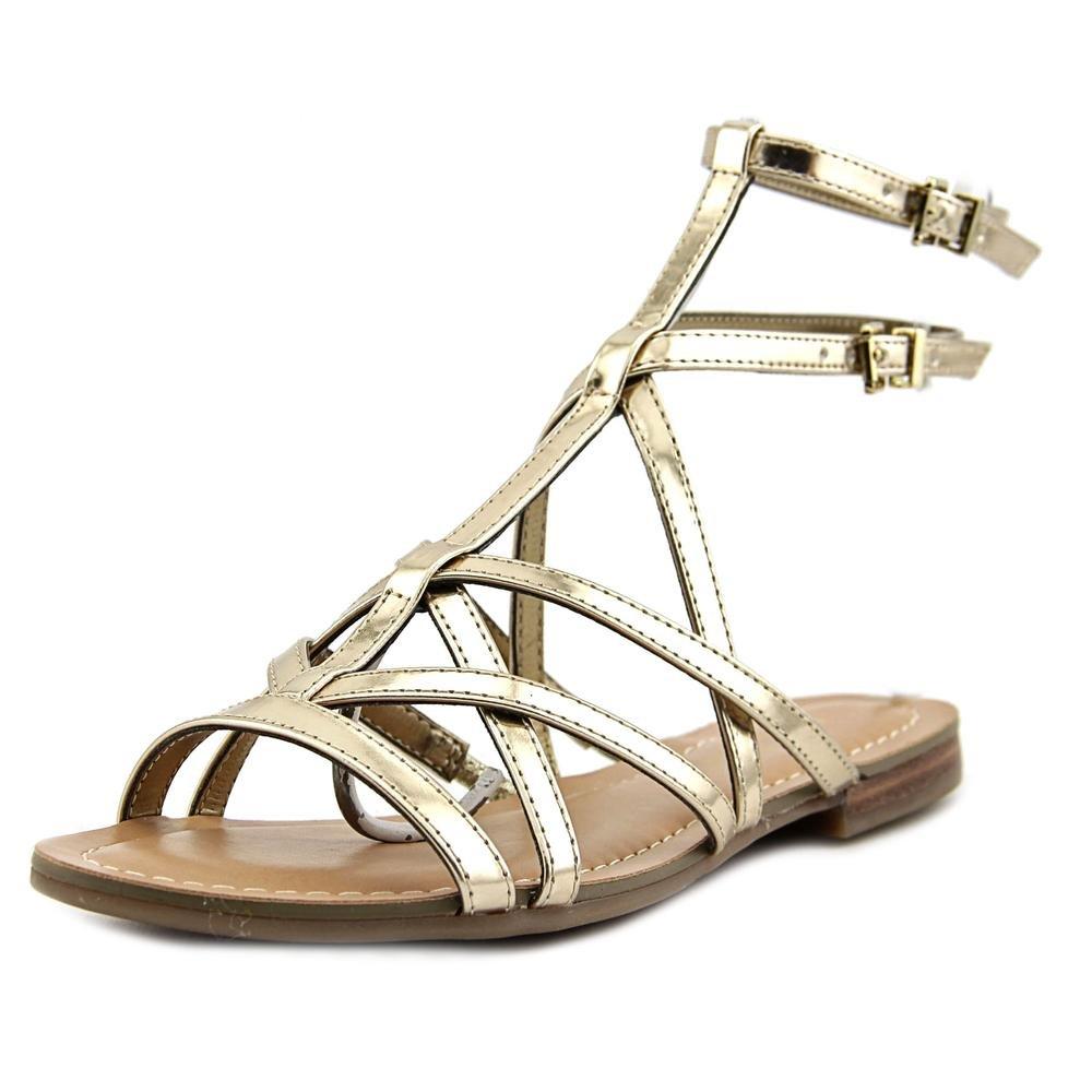 5dacaba50a6c GUESS Women s Mannie B(M) Gladiator Sandals B01BMUT7FU 10 B(M) Mannie ...