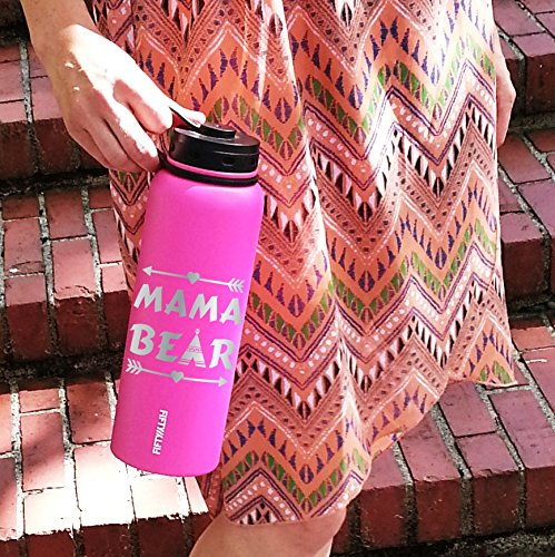 Mama Bear, Mama bear bottle, water bottle, hydro, flask, Mother's Day, christmas, gifts for her, gifts for him, Coffee mug, Travel mug