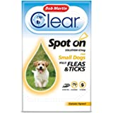 Bob Martin Flea Clear Fipronil Spot on 3 Tube for Small Dog