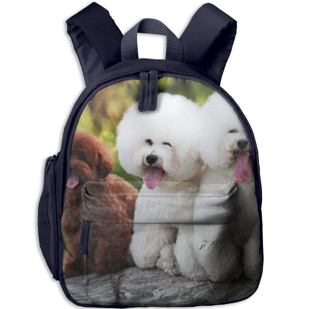 Backpack, Backpack, Backpack, School Backpack for Boys Girls Cute Fashion Mini Toddler Canvas Backpack, Cute Pet Dogs B07LFYVHDR Daypacks Billiger als der Preis 705594