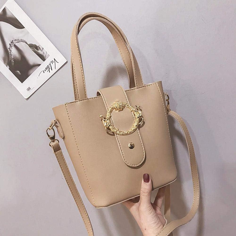 Domybest Crossbody Shoulder Bag for Women PU Leather Small Messenger Bag Shoulder Bag Travel Mini Handbag Bag
