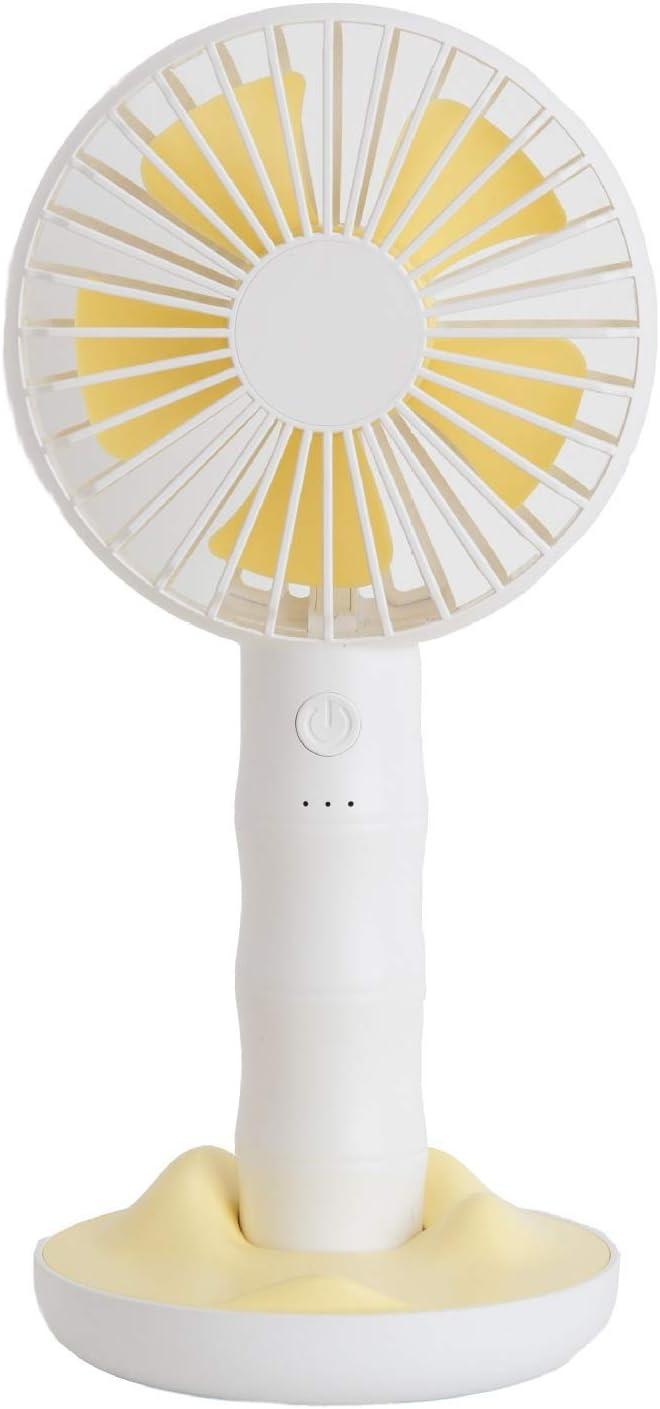 Color : White XIAOF-FEN USB Small Fan Large Wind Portable Fan Desktop Small Silent Handheld Electric Fan Summer Cooling Fan USB Fan