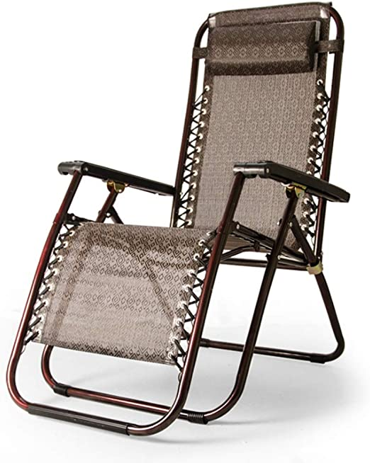 Zcyg Tumbona La Gravedad Cero sillas de jardín al Aire Libre Patio ...