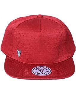 5fb44377722 BlackBuck Red Color Stylish Adjustable Hip hop Cap for Men