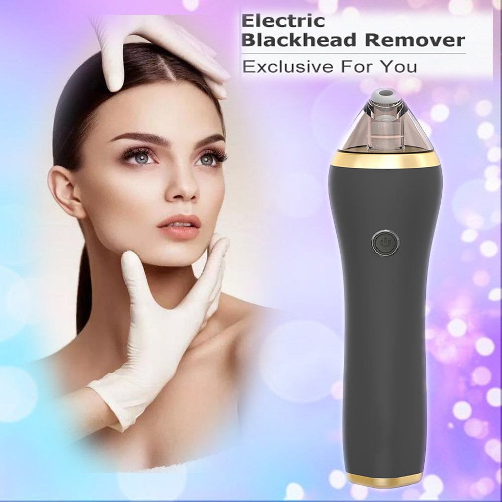 Electric Blackhead Remover with Cupping Head,Feleph Blackhead Vacuum Wireless Charging Comedo Remover with 4 Multi-Functional Probe and Cupping Function Extractor with LED Lighting by Feleph (Image #7)