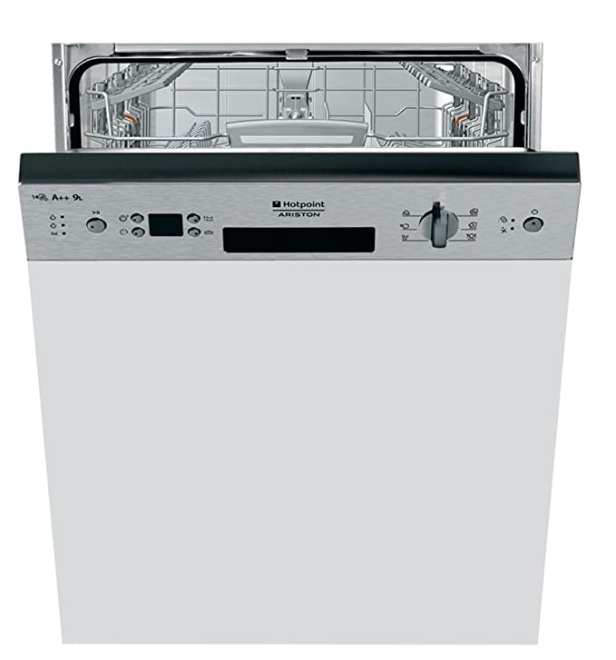 Hotpoint-Ariston LLK 7M121 X EU - Lavavajillas (Semi-incorporado ...