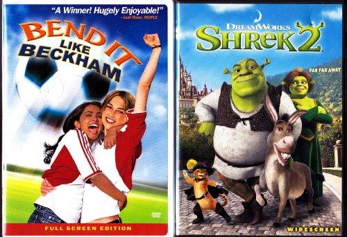 Bend It Like Beckham , Shrek 2 : Family Movie 2 Pack by