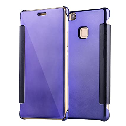 Amazon.com: P9 Lite, funda bzctah lujo enchapado pc duro ...