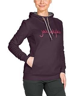 0c0d886e978 Jack Wolfskin Damen Shirt Travel Hoody T 2 W: Amazon.de: Sport ...