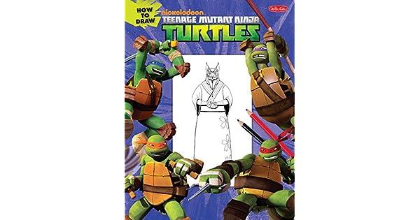 Amazon.com: How to Draw Teenage Mutant Ninja Turtles: Learn ...