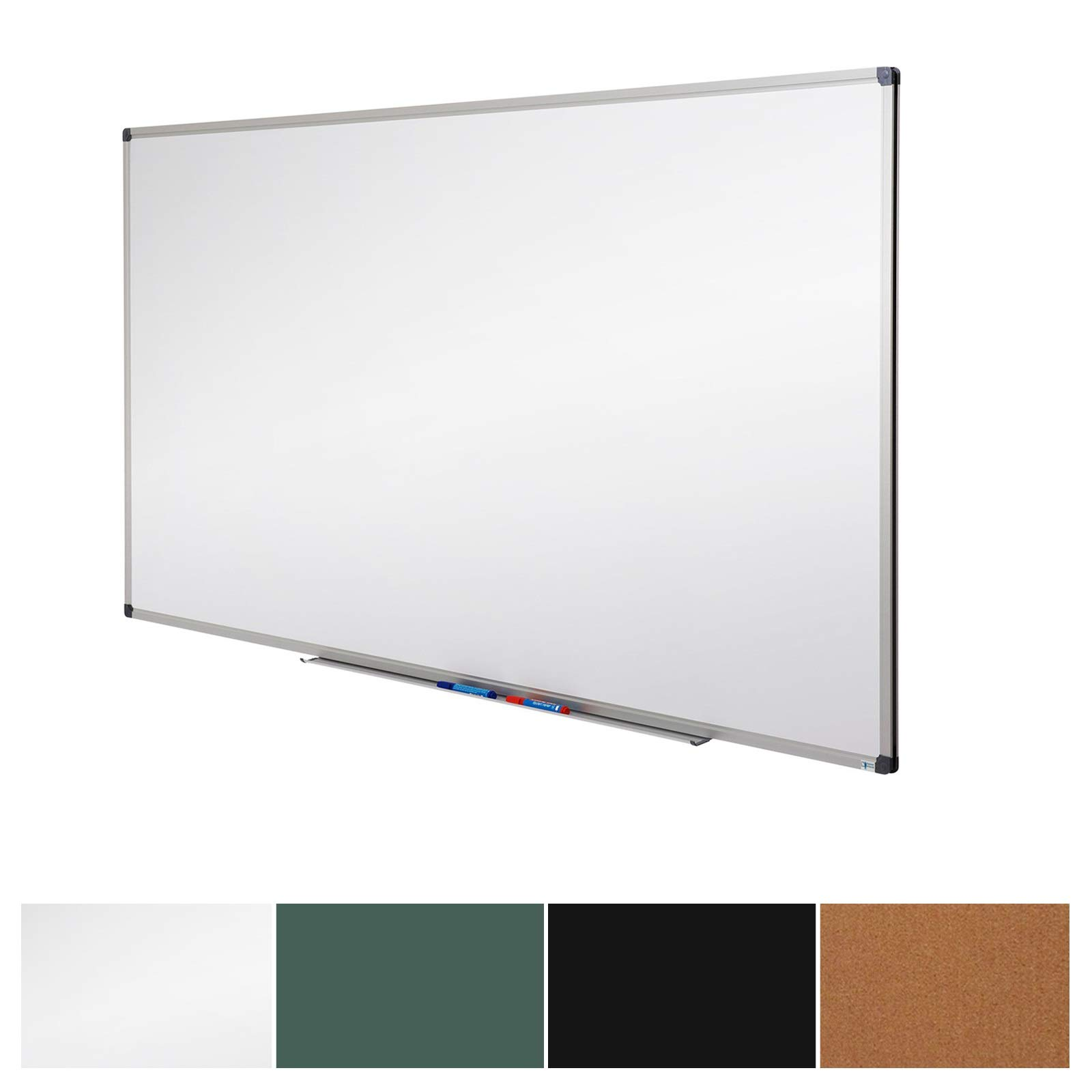 Master of Boards White Board | Magnet Dry Erase Board | Magnetic Message and Memo Planner for Commercial or Private Use | 4 Sizes | 44'' x 32''