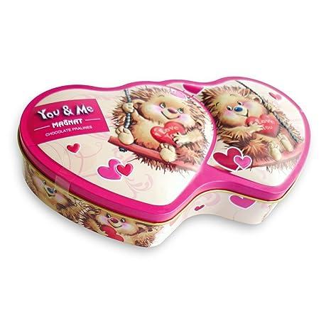 Valentinstag Pralinen You Me Mit Feinster Milchcremefullung