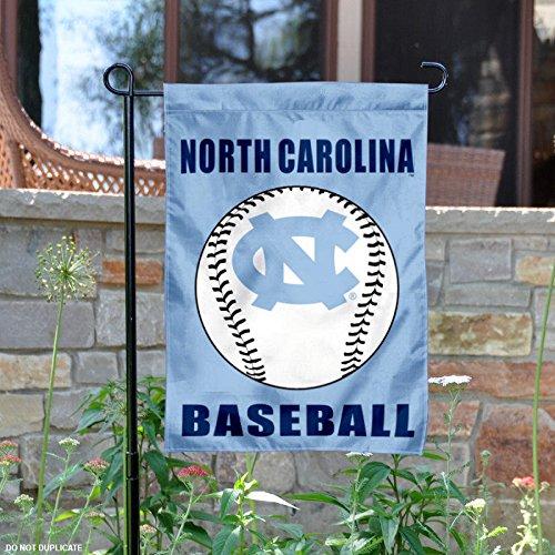 UNC Tar Heels Baseball Garden Flag and Yard Banner Tar Heels Unc Baseball