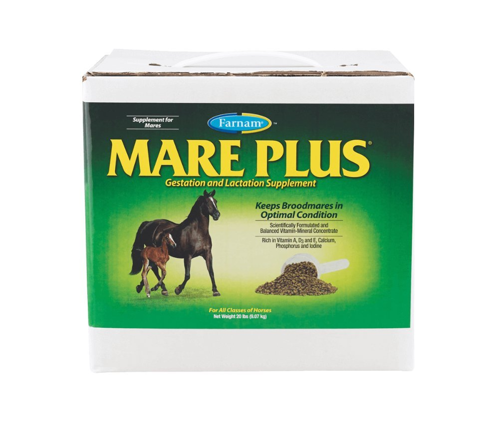 Farnam Mare Plus Gestation and Lactation Supplement, 20 lbs by Farnam (Image #1)