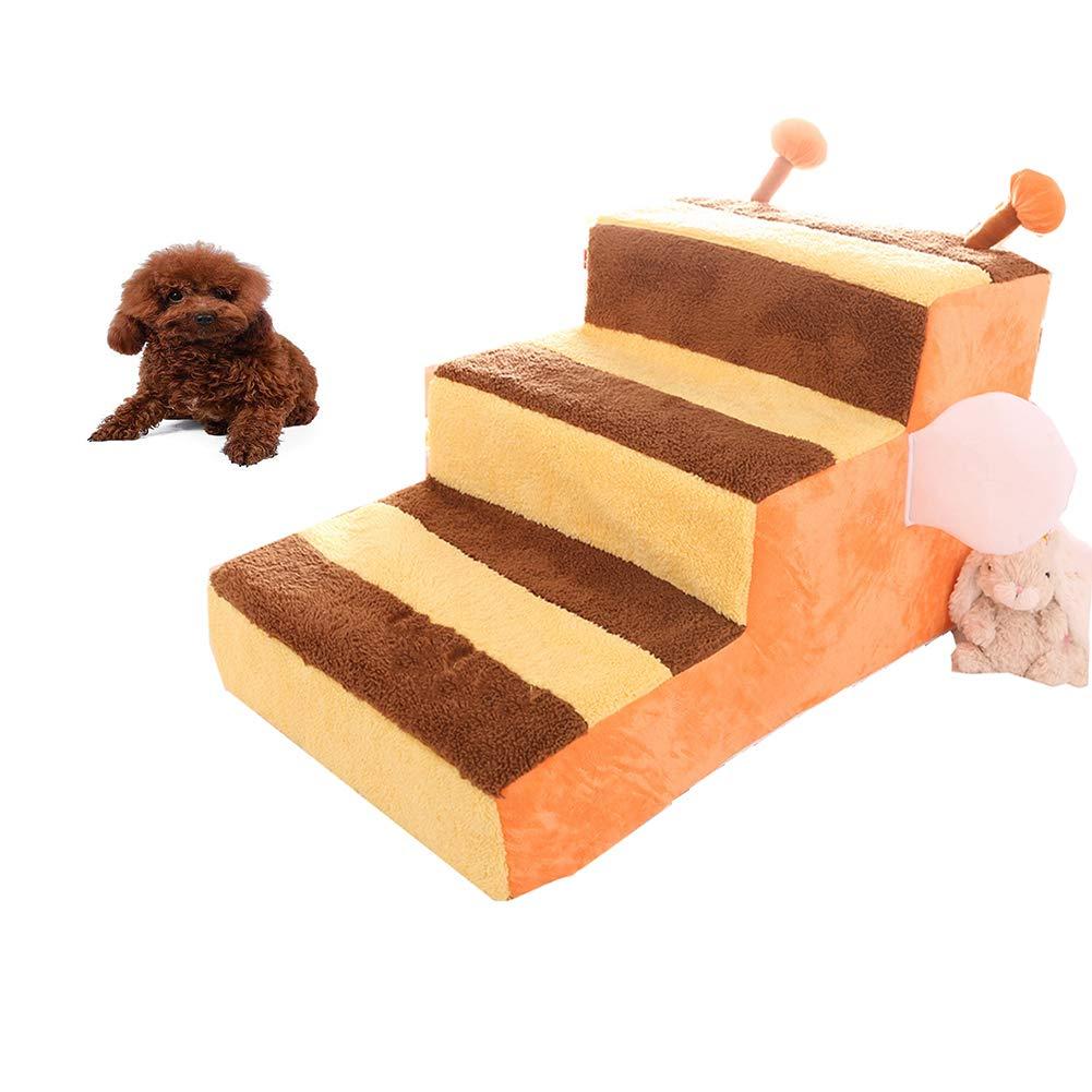 Escaleras Para Mascotas Escaleras Para 3 Pasos Escaleras Para Perros Pequeños Escalera Para Rampas Para Mascotas Gatito Portátil Para Perritos Aplica ...
