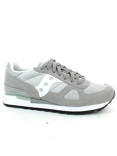 120ba4651f5 Saucony Shadow Original Uomo Grey White  Amazon.co.uk  Shoes   Bags