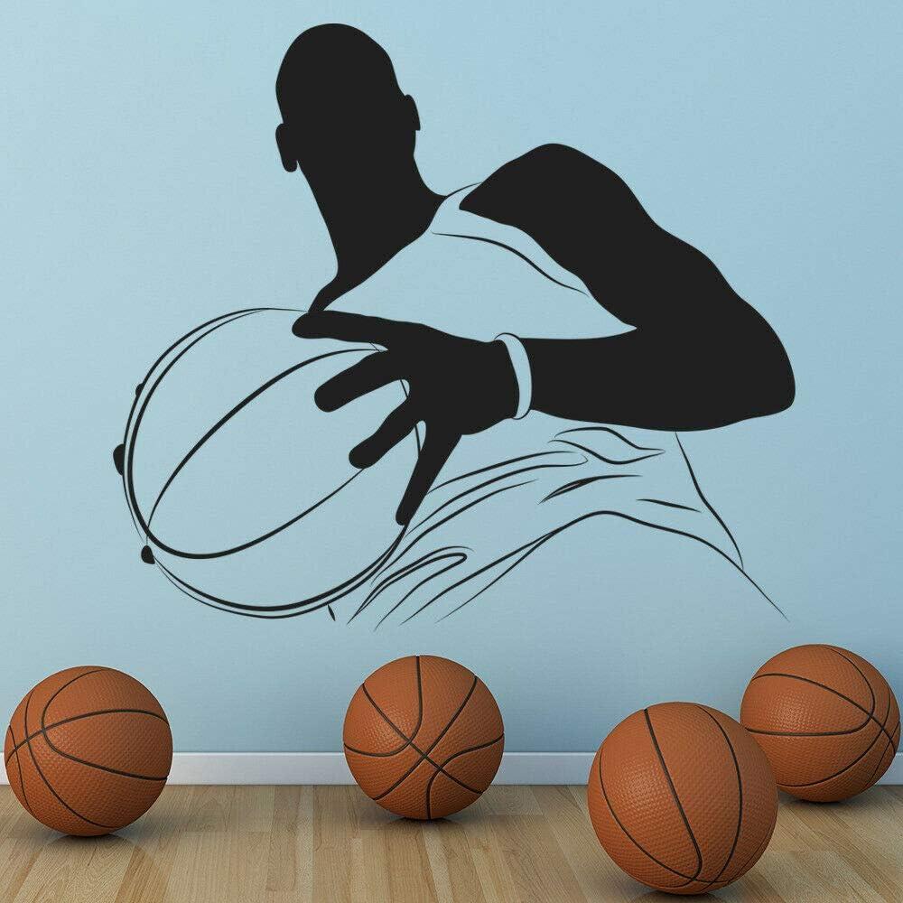JXFY 56x49 cm Gran Jugador de Baloncesto Tatuajes de Pared ...