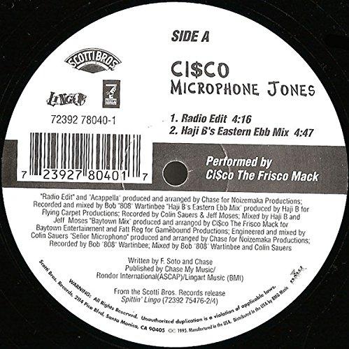 Microphone Jones [Vinyl]