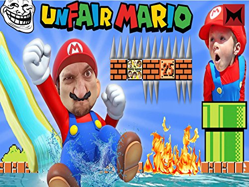 Unfair Mario And Impossible Game With Fgteev