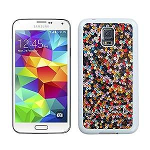 New DIY Custom Design Cover Case For Samsung Galaxy S5 I9600 G900a G900v G900p G900t G900w Paul Smith 8 White Phone Case