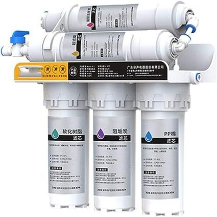 Filtros y Membrana Universales Dise/ño Exclusivo Hidro Water Equipo de /Ósmosis Inversa Domestica iOSMO /Ósmosis Inversa 5 Etapas Fabricante S.L