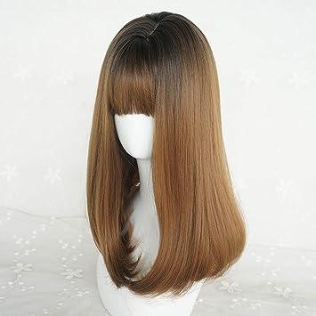 Cfjy Air Pony Perucke Weibliche Schnalle Schlusselbein Frisur