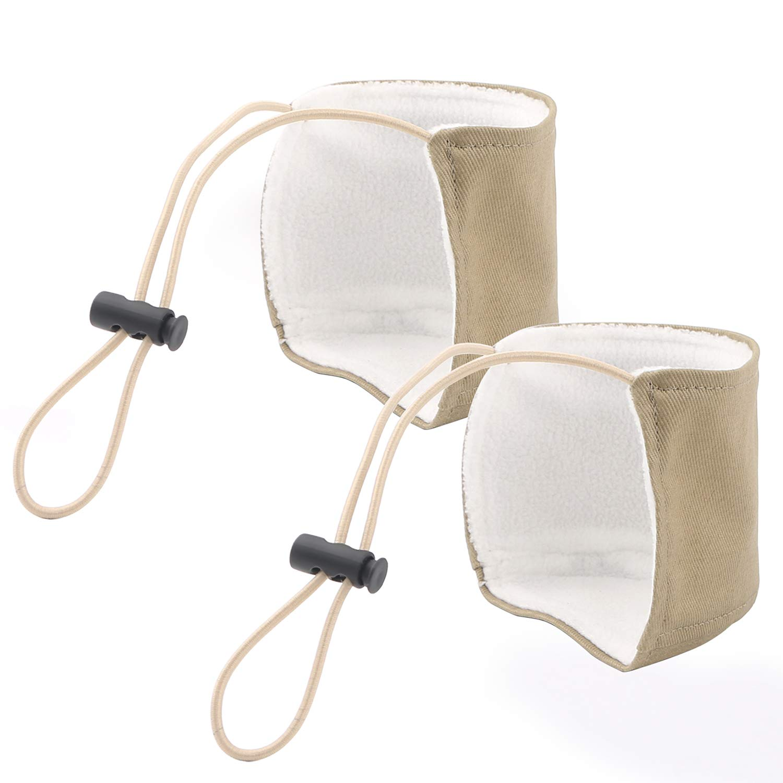 Unisex Wearproof Shoe Heel Protectors Car Mat Wear Protection for Auto (Black) Tongshop Auto Protective Gear_001