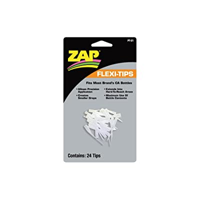 Pacer Technology (Zap) Flexy-Tips 24 Adhesives: Toys & Games