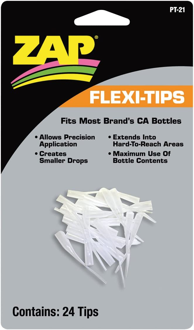 Pacer Technology (Zap) Flexy-Tips 24 Adhesives