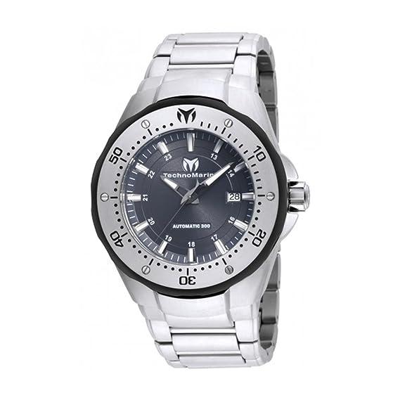 TECHNOMARINE MANTA RELOJ DE HOMBRE AUTOMÁTICO 48MM CORREA DE ACERO TM-215094   Amazon.es  Relojes d1b3a951c8c2