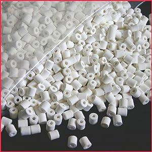 Aquacity Premier Bulk Bio Ceramic Rings Filter Media for Aquarium Koi Fish Pond Reef Filter