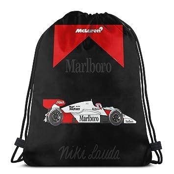 Amazon.com: Primusone Mochila con cordón, Niki Lauda McLaren ...