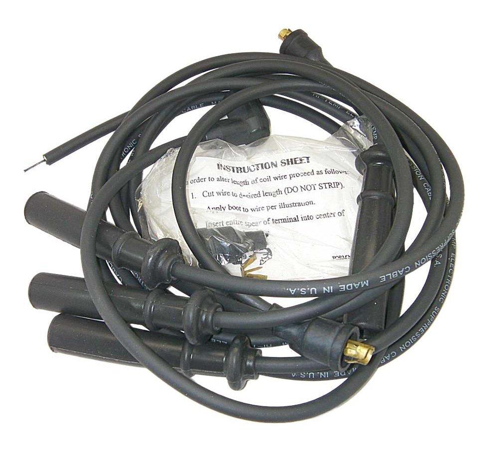 Moroso 9014 Kevlar点火スパークプラグワイヤセット – Made in the USA B07BDDNWBL