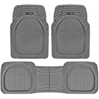$27 » Motor Trend MT-923-GR Flextough Contour Liners - Deep Dish Heavy Duty Rubber Floor Mats for…